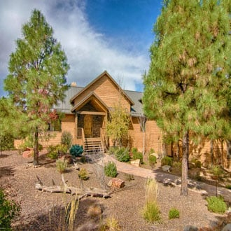 an image of a home in Show Low Arizona
