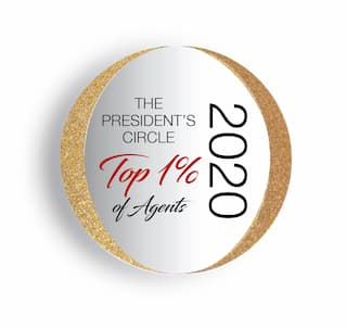 Top 1 Percent Arizona Realtors 2020 Award